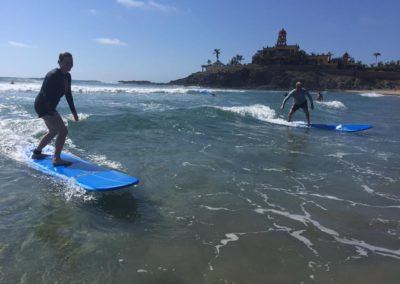 Credit S.Bradley Baja Family surf lessons