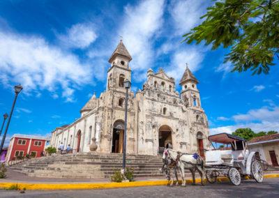 Guadalupe Church Granada Nicaragua
