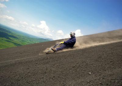Sandboarding-Cerro-Negro-Volcano